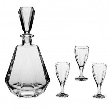 Набор для ликёра, водки: 1 графин 500 мл + 6 рюмок 60 мл