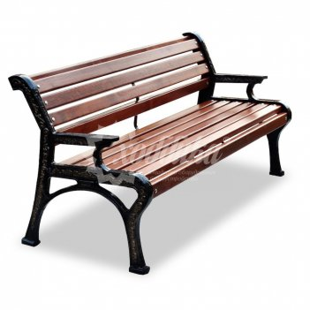 Скамейка чугунная «ретро стиль» кресло
