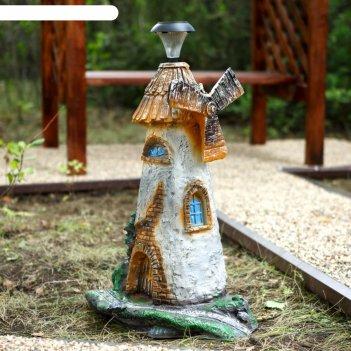 Светильник садовый мельница