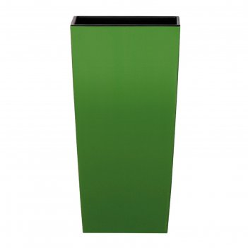 Кашпо для цветов urbi square оливковый 2 предмета 21 и 49л