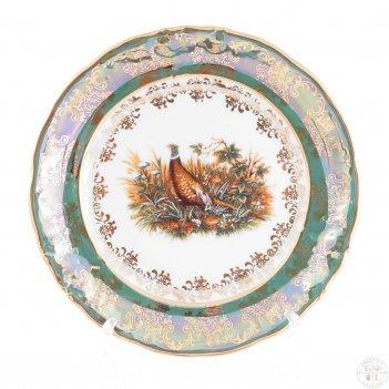 Набор тарелок roman lidicky фредерика охота зеленая 17 см(6 шт)