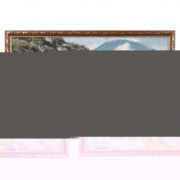 Гобеленовая картина африканские львы 77х50 см