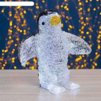 Фигура акрил. пингвин с крыльями 32х30, контрол. 8р., 220v