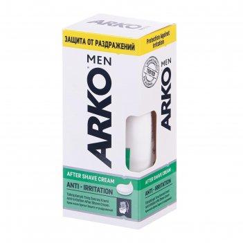Крем после бритья arko men anti-irritation, 50 мл