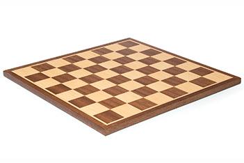 Шахматная доска плоская махагон 35х35см