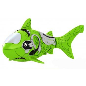Роборыбка акула (зеленая) лицензионное изделие от robofish zuru