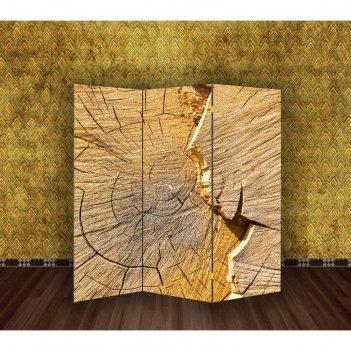 Ширма спил деревянный, 160 x 150 см