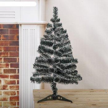 Фигурка дед мороз с медведем (резной) 22см