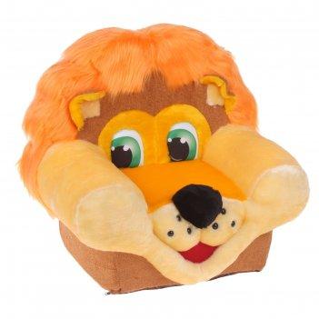 Мягкая игрушка «кресло львёнок»