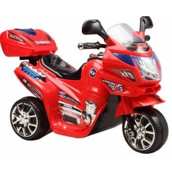 Мотоцикл эл., красный, аккум 6v/4ah,12w