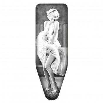 Чехол для гладильной доски mаrylin monroe, 130х50 см, хлопок