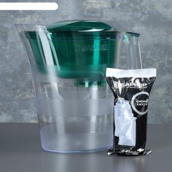 Фильтр барьер твист , зеленый изумруд  4л