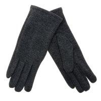Перчатки женские collorista ровные серые р-р 22, 80% п/э, 20% хлопок