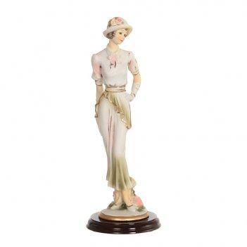 Статуэтка девушка высота=27 см бел.уп