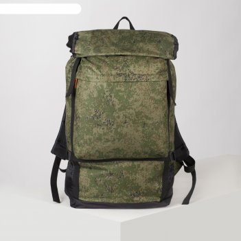 Рюкзак турист боровик, 40 л, 49*16*68, отд на стяжке шнурком, 3 н/кармана,