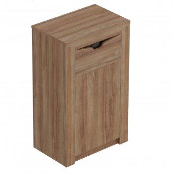 Тумба с дверцей и ящиком соренто, 385х600х985, дуб стирлинг