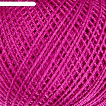 Нитки вязальные ирис 150м/25гр 100% мерсеризованный хлопок цвет 1710