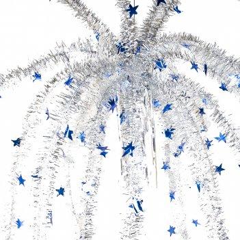 Украшение новогоднее новогодний салют l=120см. (4вида) (упаковочный пакет)