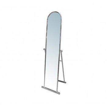 Зеркало напольное 148*40*46, цвет хром