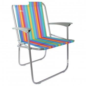 Кресло складное, кс4, 57,5 х 61,5 х 74 см, цвет радужный