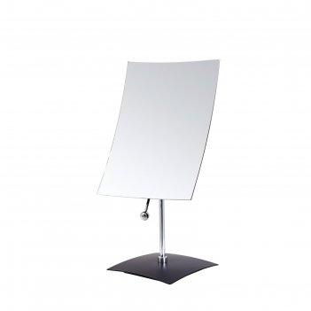 Зеркало косметическое cinderella, 5х, шарнир, цвет чёрный