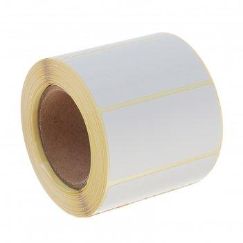 Термоэтикетка 58х30 мм, диаметр втулки 40 мм, 500 штук