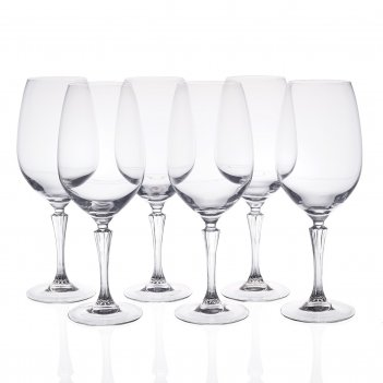 Набор фужеров для вина rcr glamour 770 мл(6 шт)