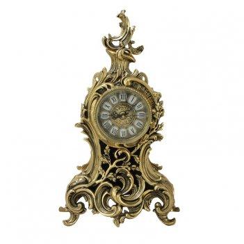 Часы  сильва  каминные бронзовые