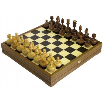 Шахматы стандартные деревянные неваляшки 47х47см