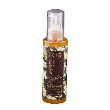 Балансирующее масло-флюид ecolab karite spa восстановление и укрепление, 1