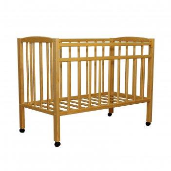 Детская кроватка, цвет берёза