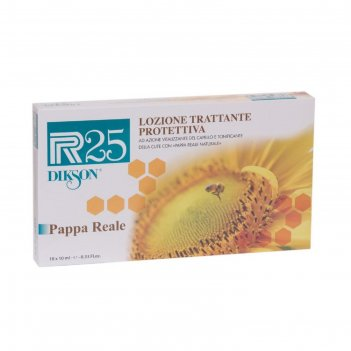 Ампулы для роста волос dikson r25 pappa reale, 10 шт. по 10 мл