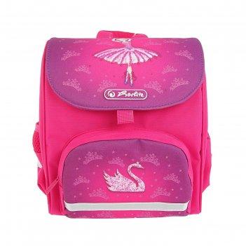 Ранец дошкольный herlitz mini softbag 24*26*14 дев ballerina 50008179