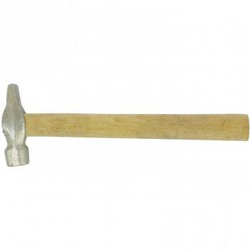Молоток слесарный, 400 г, круглый боек, деревянная рукоятка россия