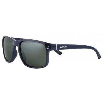 Очки солнцезащитные zippo, унисекс, синие, оправа и дужки из поликарбоната