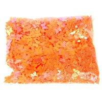Набор для творчества пайетки бабочки оранж 100 гр