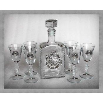 Набор для водки с рюмками  к удаче      арт. ншт110уд-56