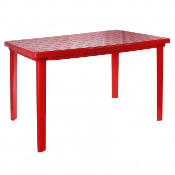 Стол прямоугольный размер 1200х850х750, цвет красный