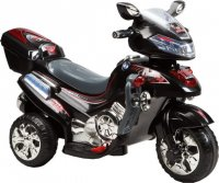 Мотоцикл эл., черный, свет, mp3, аккум 6v/4.5ah,12w
