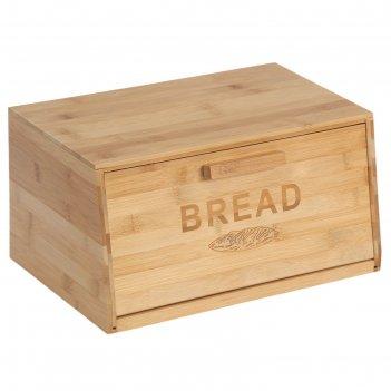 Хлебница 35х23х18 см, бамбук