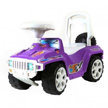 Ор419 каталка race mini formula 1 фиолетовая