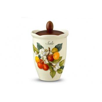 Банка для сыпучих продуктов (соль)  итальянские фрукты
