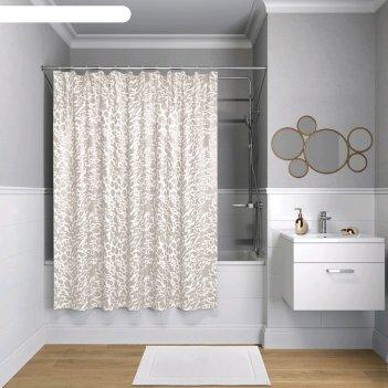 Штора для ванной комнаты iddis b30p218i11, 200x180 см, полиэстер