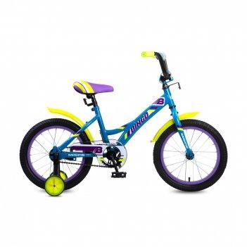 Детский велосипед, navigator bingo, колеса 16, стальная рама, стальные обо