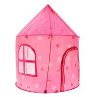 Игровая палатка домик принцессы, цвет розовый