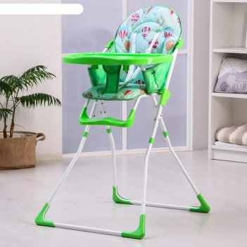 Стульчик для кормления зеленый