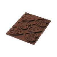 Форма для приготовления печенья cookie love, размер: 15,2 х 11 см, материа