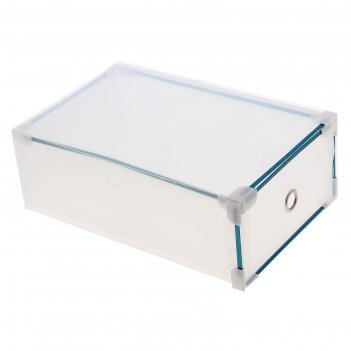 Короб для хранения выдвижной, прозрачный