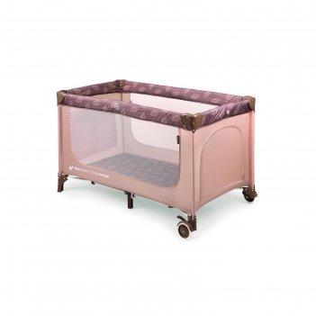Кровать-манеж martin, цвет бежевый