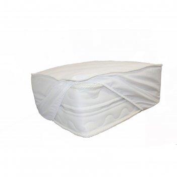 Наматрасник на резинке непромокаемый, размер 90х186 см